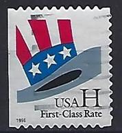 USA  1998  Uncle Sams Hat (o) Mi.3060  BDl - Gebraucht