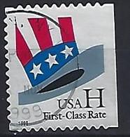 USA  1998  Uncle Sams Hat (o) Mi.3060  BDr - Gebraucht