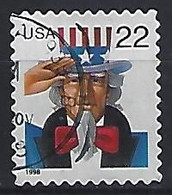 USA  1998  Uncle Sam (o) Mi.3064  BA - Gebraucht