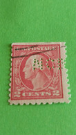 ETATS-UNIS - U.S.A. - Timbre 1923 : Histoire - George WASHINGTON, 1er Président Des Etats-Unis - Used Stamps