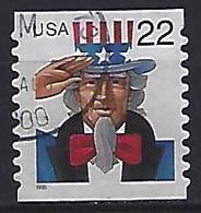 USA  1998  Uncle Sam (o) Mi.3064  BC - Gebraucht