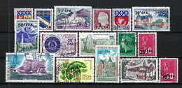 FRANCE Réunion 1961-73: Lot D'obl. - Oblitérés