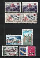 FRANCE Réunion 1951-73: Lot D'obl. - Oblitérés