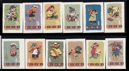 China 1963  Kid's Games / MNH / IMP / MI: 702-713 - Ungebraucht