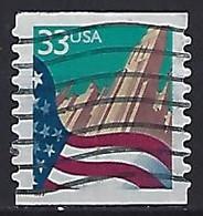USA  1999  Flag (o) Mi.3091 BG I - Gebraucht