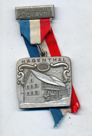 Medaille Marche Populaire Hagenthal 1978 Maison à Colombage - Other