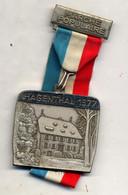 Medaille Marche Populaire Hagenthal 1977 Demeure Comte D'eptingen - Other