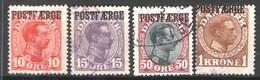 Danimarca 1919 Pacchi Postali Unif.1/4 O/Used VF/F - Paketmarken