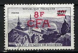 FRANCE Réunion 1951: Le Y&T 302A Obl. CAD - Oblitérés
