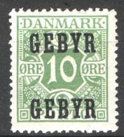 Danimarca 1923 Segnatasse Unif.19 */MH VF/F - Portomarken