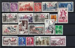 FRANCE Réunion 1949-61: Lot D'obl. CAD - Oblitérés