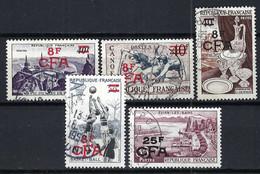 FRANCE Réunion 1949-59: Lot D'obl. CAD - Oblitérés