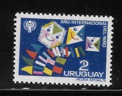 Uruguay 1979 IYC Smiling Kites MNH - Uruguay