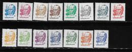 Uruguay 1980 - 1985 Artigas 15v Definitive MNH - Uruguay