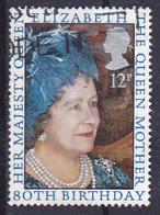 Tp De 1980 - 12p 80e Anniversaire De La Reine-mère Elizabeth - Y&T N° 950-  Obli - Used - Usato - Départ à 50% - Used Stamps