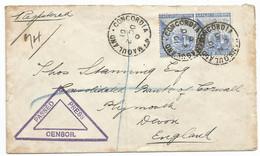 Cape Of Good Hope 1901 CONCORDIA Namaqualand. BOER WAR. - Cape Of Good Hope (1853-1904)