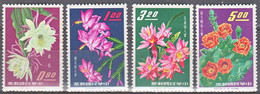 Taiwan 1964, Postfris MNH, Flowers, Cacti - Unused Stamps