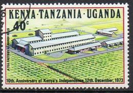 EST AFRICAIN N° 260 O Y&T 1973 10e Anniversaire De L'indépendance (usine à Thé) - Kenya, Uganda & Tanzania
