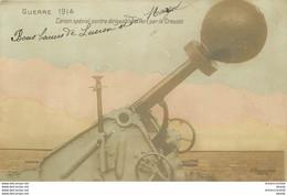 GUERRE 1914. Canon Spécial Contre Dirigeable Offert Par Le Creusot 1914 - Materiale