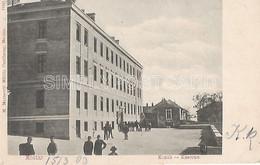 AK OLD POSTCARD - BOSNIA ERZEGOVINA - MOSTAR - KONAK - KASERNE - ANIMATA , VIAGGIATA 1903 -  F20 - Bosnië En Herzegovina