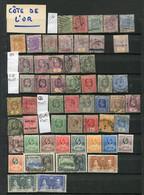 GOLD COAST - COLLECTION A PARTIR DE 1876 - 95 Timbres Différents - 2 Scans - Gold Coast (...-1957)