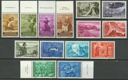 Liechtenstein 1960/1964 ☀ Countryside Motives / Landscapes ☀ MNH** - Ungebraucht