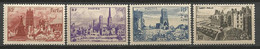 Série Complète N° 744 à 747 Gom D'origine NEUF** LUXE SANS  CHARNIERE / MNH - Unused Stamps
