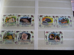 (Blauw)  Dubai Poisson Fish Fisch Pesce Pescado Peixe Vis Set From 7 See Scan - Dubai