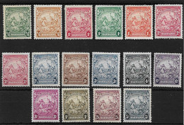 BARBADOS 1938 - 1947 SET SG 248/256a LIGHTLY MOUNTED MINT Cat £50 - Barbados (...-1966)