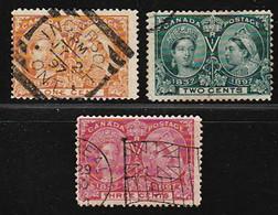Francobolli Usati Non In Serie Completa Regina Victoria - Used Stamps