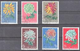 China 1960, Gestempeld Used, Flowers - Gebruikt
