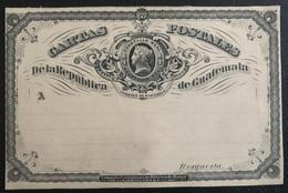 Guatemala 1890 Entier Postal (1207) - Guatemala