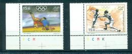 Algeria 2008-Olympic Games Set (2v) - Verano 2008: Pékin