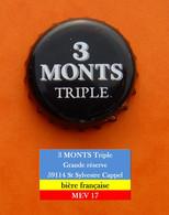 3 Monts Triple Grande Réserve - Bière Française   MEV17 - Beer