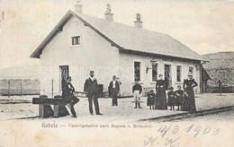 AK OLD POSTCARD BOSNIA ERZEGOVINA GABELA - UMSTEIGSTATION NACH RAGUSA U. METKOVIK  STAZIONE FERROVIARIA - VIAGGIATA 1903 - Bosnië En Herzegovina
