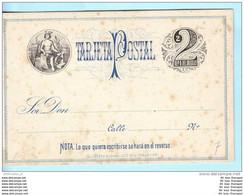 URUGUAY Ganzsache Postal Karte Postcard ** 2 Centesimo - Merkur (15412) - Uruguay