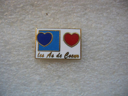 Pin's Des AS De Coeur - Games