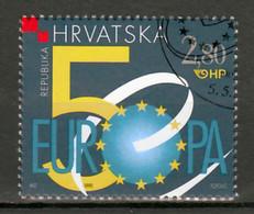 Kroatie Mi 504  E.U. 50 Jaar Gestempeld - Croatia