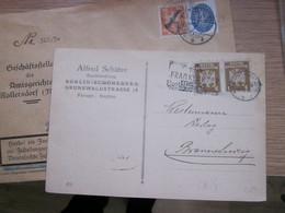 Berlin Alfred Schutze 1925 - Covers & Documents