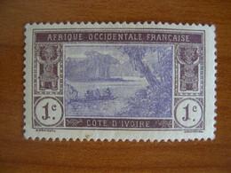 Cote D'Ivoire N° 41 Neuf ** - Unused Stamps