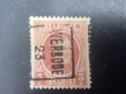 Nr 3123 B Averbode 23 - Roller Precancels 1920-29
