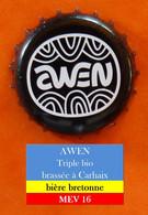 Awen - Bière Bretonne Bio   (parfait état - Pas De Trace De Décapsuleur) MEV 16 - Beer