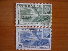Cote D'Ivoire N° 169/170 Neuf SG - Unused Stamps