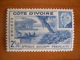 Cote D'Ivoire N° 170 Neuf ** - Unused Stamps