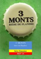 3 Monts Bière Des Flandres - Bière Française  MEV 10 - Beer