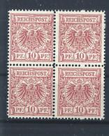 Dt.Reich - 4er Block - Postfrisch - 1 - Ungebraucht