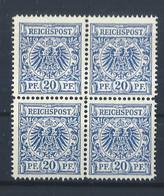 Dt.Reich - 4er Block - Postfrisch - 2 - Ungebraucht