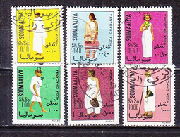 D0079 - SOMALIE Yv N°178/83 COSTUMES - Somalië (1960-...)