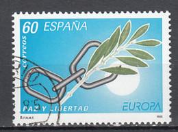 Spanje  Europa Cept 1995 Gestempeld - 1991-00 Usati