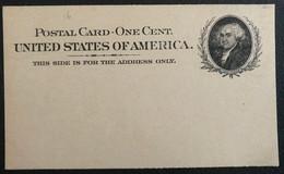 Etats-Unis Entier Stationary Mint (1217) - ...-1900